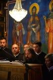 Orthodox church choir Royalty Free Stock Photos