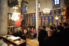 Orthodox church choir Stock Image