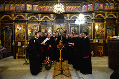 Orthodox church choir Stock Image