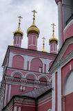 Orthodox Church in the city of Borovsk in the Kaluga region (Russia). Stock Image