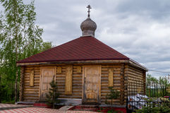 Orthodox Church in the city of Borovsk in the Kaluga region (Russia). Stock Photos