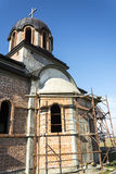 The Orthodox Church in construction Royalty Free Stock Images
