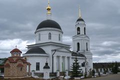 Orthodox Church in the countryside Stock Photography