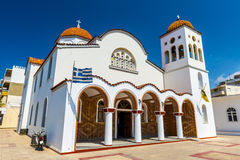 Orthodox Church in Crete, Greece Royalty Free Stock Images