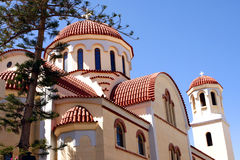 Orthodox Church in Crete Stock Photography