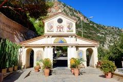 The Orthodox church in Crete island Stock Photos