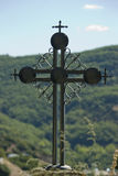 Orthodox church cross Royalty Free Stock Photos