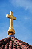 Orthodox church cross Royalty Free Stock Photo