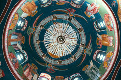 Orthodox Church cupola. The cupola in a Christian Eastern Orthodox Church in the Republic of Macedonia Royalty Free Stock Photography