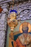 An Orthodox church in Cyprus Royalty Free Stock Photo