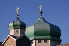 Orthodox church dome Royalty Free Stock Photography