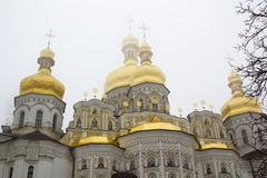 Orthodox church domes Royalty Free Stock Image