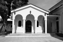 The Orthodox Church Ekklisia Agios Ioannis. Royalty Free Stock Photography