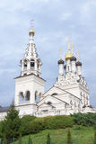 Orthodox church of Faith, Hope and Charity and their mother Soph Royalty Free Stock Photo