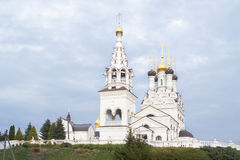 Orthodox church of Faith, Hope and Charity and their mother Soph Stock Photography