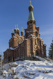 The orthodox church. In Finland stock images