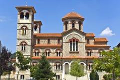 Orthodox church at Florina, Greece stock photos
