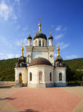 Orthodox church in Foros, Crimea. Old orthodox church in Foros, Crimea royalty free stock photos