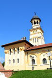 Orthodox church in the fortress of Alba Iulia, Transylvania Stock Photography