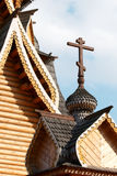 Orthodox church. Fragment. Kremlin in Izmailovo district. Moscow Royalty Free Stock Images