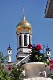 Orthodox Church in Gomel region (Belarus). Stock Photography