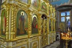 Orthodox Church in the Gomel region. Stock Photography