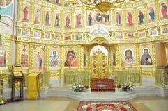 Orthodox Church in the Gomel region. Royalty Free Stock Photos