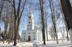 Orthodox Church in the Gomel region. Royalty Free Stock Photography