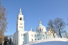 Orthodox Church in the Gomel region. Stock Images