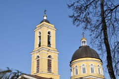 Orthodox Church in the Gomel region. Royalty Free Stock Photo