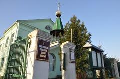Orthodox Church in the Gomel region. Royalty Free Stock Image