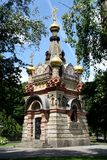 Orthodox Church in the Gomel region. Royalty Free Stock Images