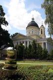 Orthodox Church in the Gomel region. Stock Photo