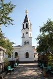 Orthodox Church in the Gomel region. Stock Image