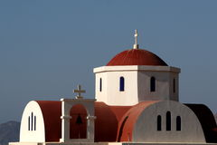 Orthodox church in Greece Stock Image