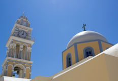 Orthodox church, greece Royalty Free Stock Photography