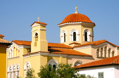 Orthodox church - Greece Royalty Free Stock Images