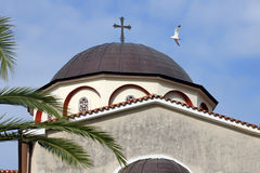 Orthodox church in Greece Royalty Free Stock Image