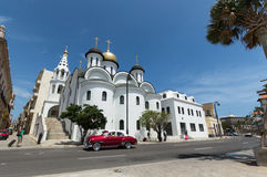 The Orthodox church in Havana, Cuba Stock Images