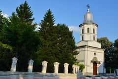 Orthodox church. Historic orthodox church in Galati, Romania Stock Image