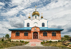 Orthodox church in Holic, Slovakia, religious architecture Stock Photo