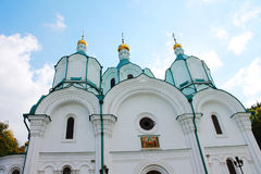 Orthodox Church in the Holy Stock Photography
