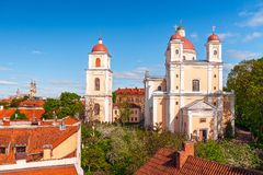Orthodox Church of the Holy Spirit.Vilnius.Lithuania royalty free stock photography