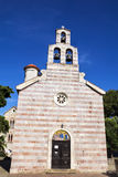 Orthodox Church of Holy Trinity (Crkva Sv. Trojice) in Budva. Royalty Free Stock Images