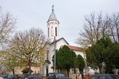 Orthodox Church of Holy Trinity, Zagubica, Serbia royalty free stock images