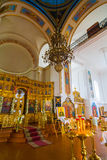 Orthodox church inside Royalty Free Stock Images