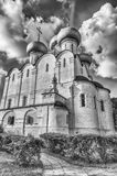 Orthodox church inside Novodevichy convent, iconic landmark in M Royalty Free Stock Photography