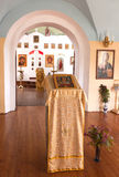 Orthodox church inside Royalty Free Stock Photo