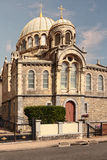 Orthodox Church of the INTERCESSION AND ST. ALEXANDER NEVSKY in Biarritz, France Stock Image