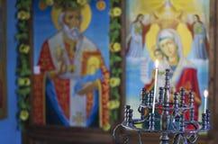 Orthodox church interior Stock Photography
